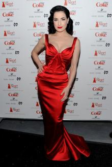 heart truth red sweetheart red satin mermaid celebrity evening formal dress
