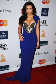 Blue Celebrity Occasion Dresses Starcelebritydresses