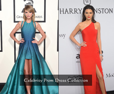 Prom Dresses for Celebrities